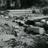 Hroby bíloveckého hřbitova poničené bombardováním ve II. světové válce, SOkA Nový Jičín