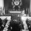 Interiér dnešního kulturního domu v Bílovci 1953 - 1957, SOkA Nový Jičín