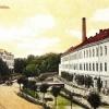 Budova továrny Massag, pohlednice z roku 1927