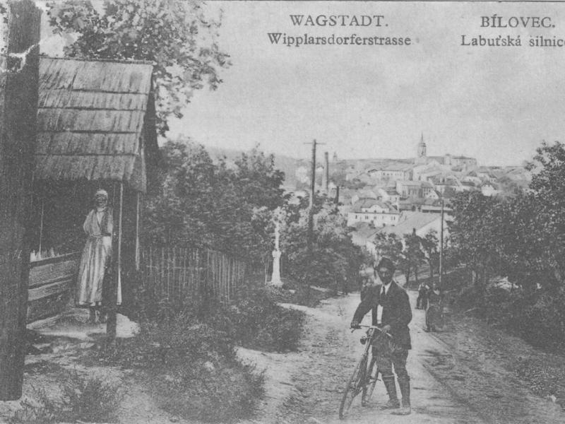Labuť - pohlednice ze soukromé sbírky, 30. léta